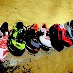Laufschuhe bringen Fußmuskulatur zum Arbeiten