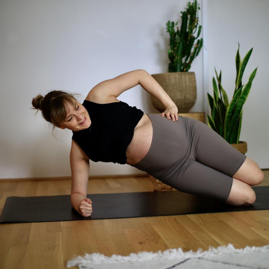 Übung T0B8245 – seitliche Bauchmuskulatur